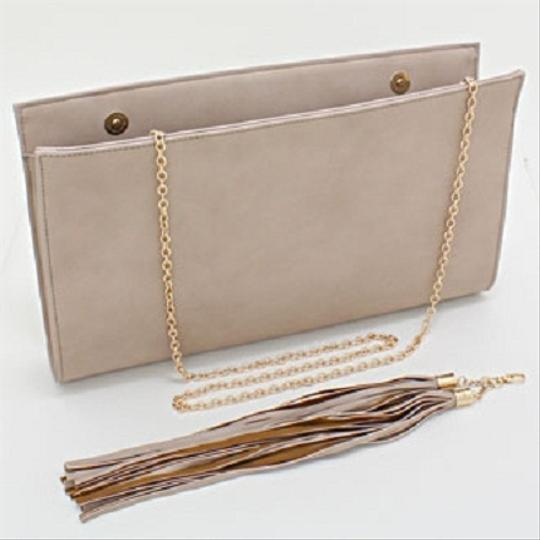 Other Khaki Taupe Clutch