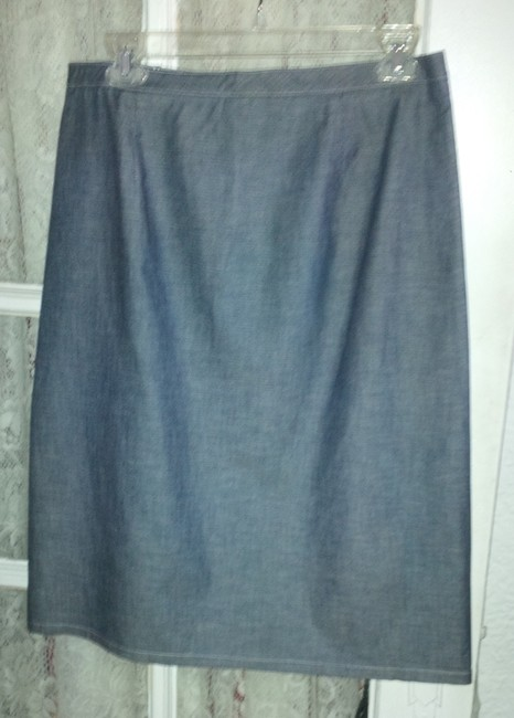 French Connection Summer Musthave Twill Skirt Medium denim blue