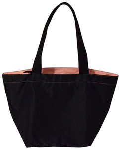 Herve Chapelier Tote in Navy and pink