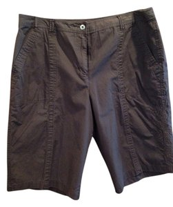 Chico's Bermuda Shorts Dark brown