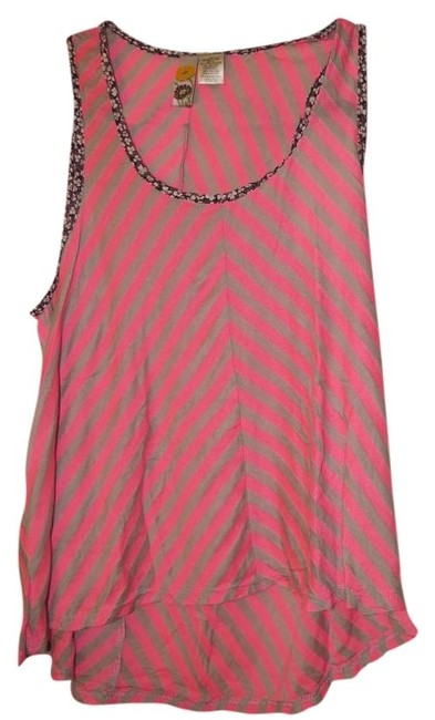 Mimi Chica Striped Top Pink