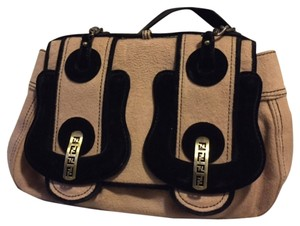 Fendi Satchel in tan/black