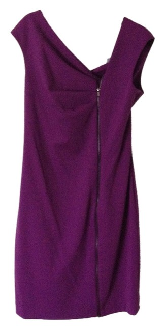 Preload https://item3.tradesy.com/images/calvin-klein-purple-asymmetrical-zip-front-stretch-knit-shift-above-knee-night-out-dress-size-6-s-3541567-0-0.jpg?width=400&height=650