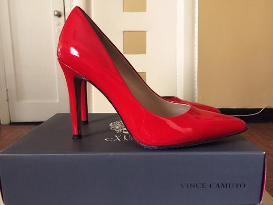 Vince Camuto Blood Red Pumps