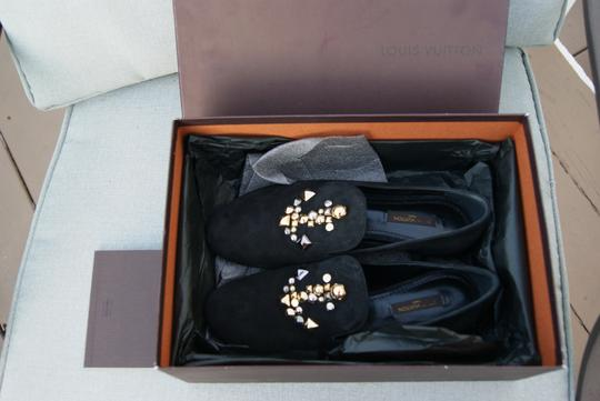 Louis Vuitton Sailor Black Flats