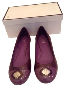 Coach Purple/lilac Flats