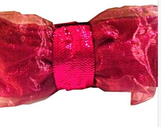 Betsey Johnson Bow Too Too Pink Clutch