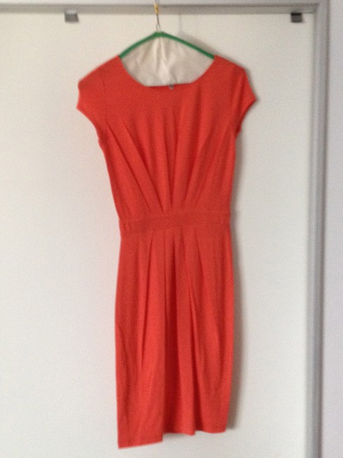 Ava & Aiden short dress Orange on Tradesy