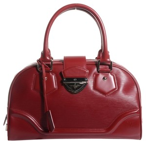 Louis Vuitton Satchel in Rubis