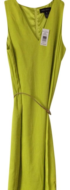 Preload https://item3.tradesy.com/images/pink-tartan-chartreuse-silk-v-neck-sexy-entrance-unique-color-above-knee-night-out-dress-size-0-xs-3542632-0-0.jpg?width=400&height=650
