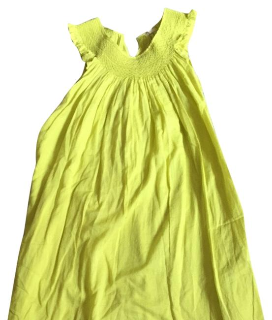 J.Crew short dress Bright Yellow on Tradesy