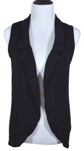 Studio Y Vest Sleeveless Drape Cardigan