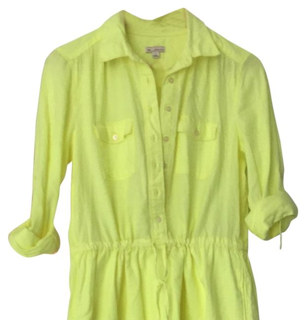 Preload https://item3.tradesy.com/images/gap-dress-neon-yellow-3542737-0-0.jpg?width=400&height=650