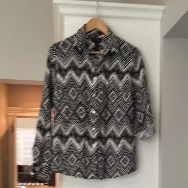 J.Crew Button Down Shirt Tribal