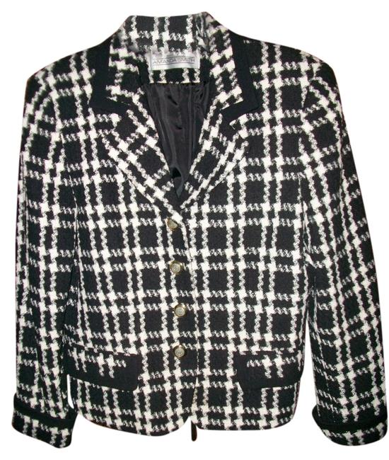 Amanda Smith Black & White Blazer