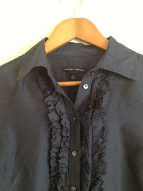 Banana Republic Button Down Shirt Navy