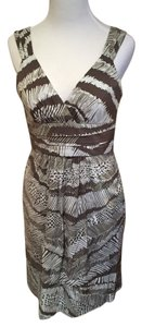 BCBGMAXAZRIA short dress Brown on Tradesy