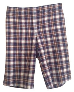 J.Crew Bermuda Shorts Plaid Rust
