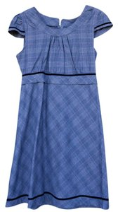 NIck & Mo short dress grayish purple plaid on Tradesy