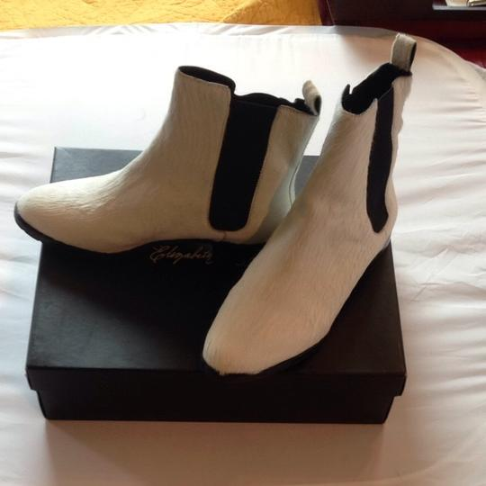 Elizabeth and James Off white Boots