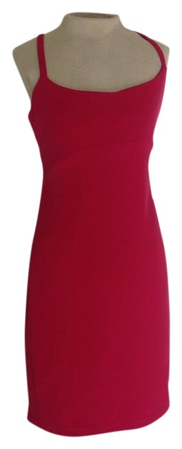 Preload https://item1.tradesy.com/images/hugo-buscati-fuchsia-above-knee-cocktail-dress-size-6-s-3544195-0-2.jpg?width=400&height=650
