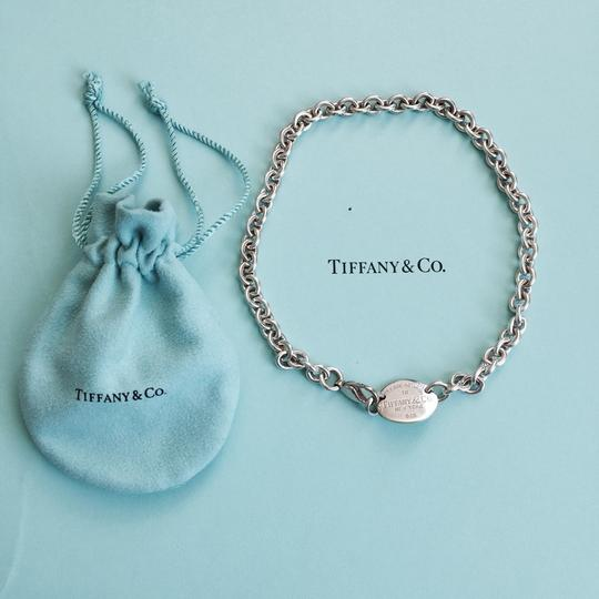 Tiffany & Co. Tiffany & Co. 925 Return To Tiffany Dog Tag Sterling Silver Necklace