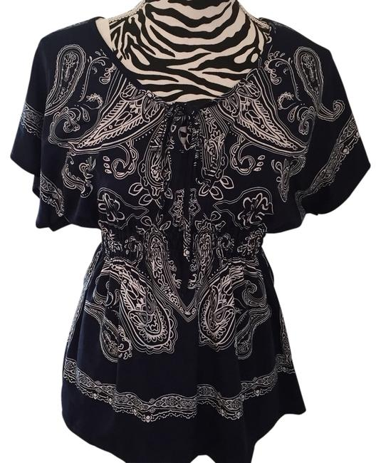 Preload https://item1.tradesy.com/images/claudia-richard-blouse-size-10-m-3544480-0-0.jpg?width=400&height=650