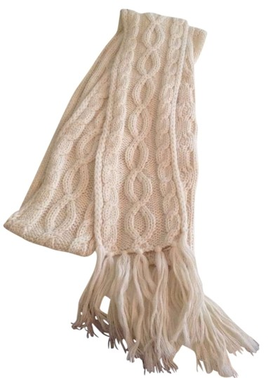 Preload https://item1.tradesy.com/images/the-limited-cream-knit-with-tassels-scarfwrap-354470-0-0.jpg?width=440&height=440