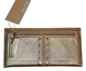 Michael Kors Michael Kors astor leather wallet gold