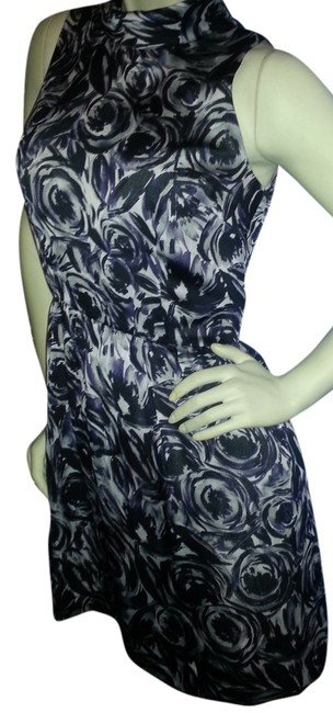 Preload https://item2.tradesy.com/images/ann-taylor-purple-gray-black-artistic-floral-knee-length-cocktail-dress-size-4-s-3544726-0-0.jpg?width=400&height=650
