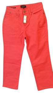 Talbots Straight Pants Orange