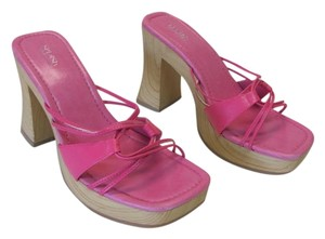 Splash New Excellent Condition pink Platforms