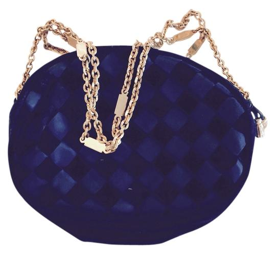 Preload https://item3.tradesy.com/images/bottega-veneta-navy-satin-and-velvet-shoulder-bag-3545017-0-0.jpg?width=440&height=440