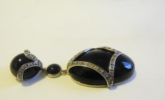 Colleen Lopez Colleen Lopez Big and Bold Black Onyx Enhancer without Chain