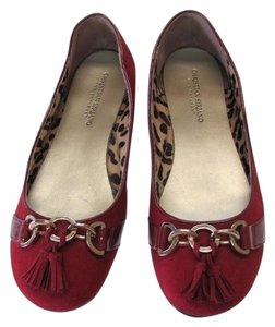 Christian Siriano for Payless Great Condition Size 10 RED Flats