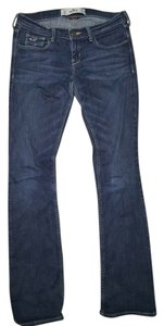 Hollister Social Stretch Straight Leg Jeans-Distressed