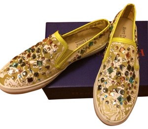 Henry Ferrera yellow and white Flats