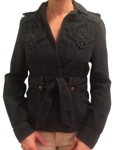 Marc by Marc Jacobs Designer Studded Faded Navy Blazer