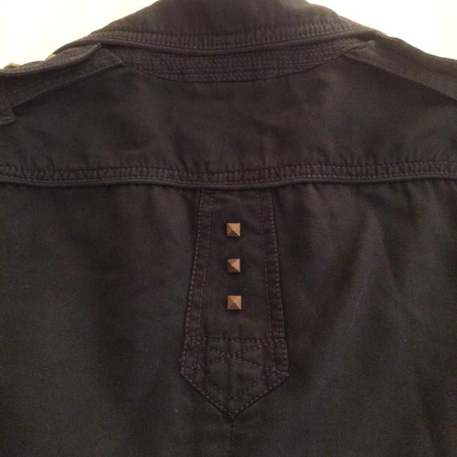 Marc by Marc Jacobs Designer Studded Dusty Navy Blazer