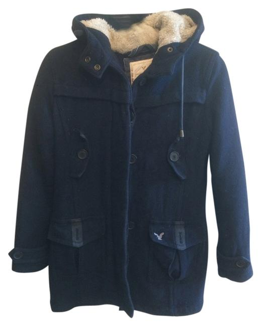 American Eagle Outfitters Shearling Wool Fur Coat