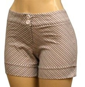 Meeting Mini/Short Shorts gray white