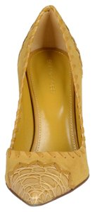 Sergio Rossi yellow Pumps