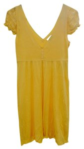 XOXO short dress Yellow on Tradesy
