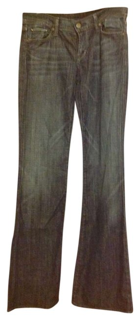 Item - Medium Wash Stretchy Midwaist Boot Cut Jeans Size 28 (4, S)