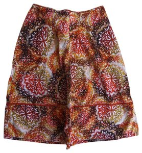 East 5th Essentials Skirt Multi Color Geometric Print