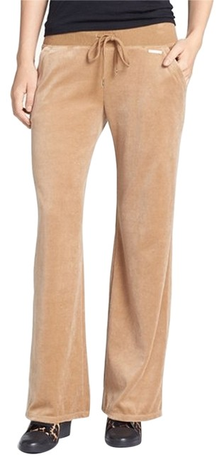 Preload https://item2.tradesy.com/images/michael-kors-tan-flared-pants-size-12-l-32-33-3547636-0-0.jpg?width=400&height=650
