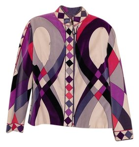 Emilio Pucci Chanel Jacket Pucci Jacket Prada Jacket Button Down Shirt