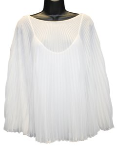 Laundry by Shelli Segal Accordion Batwing Top