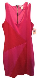 Bar III short dress Pink and Red on Tradesy