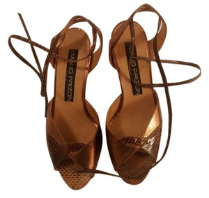 MAUD FRIZON Made In Italy Copper Sandals